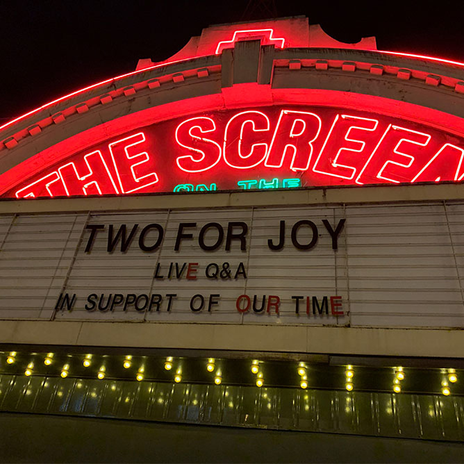Two For Joy Q-and-A Screening